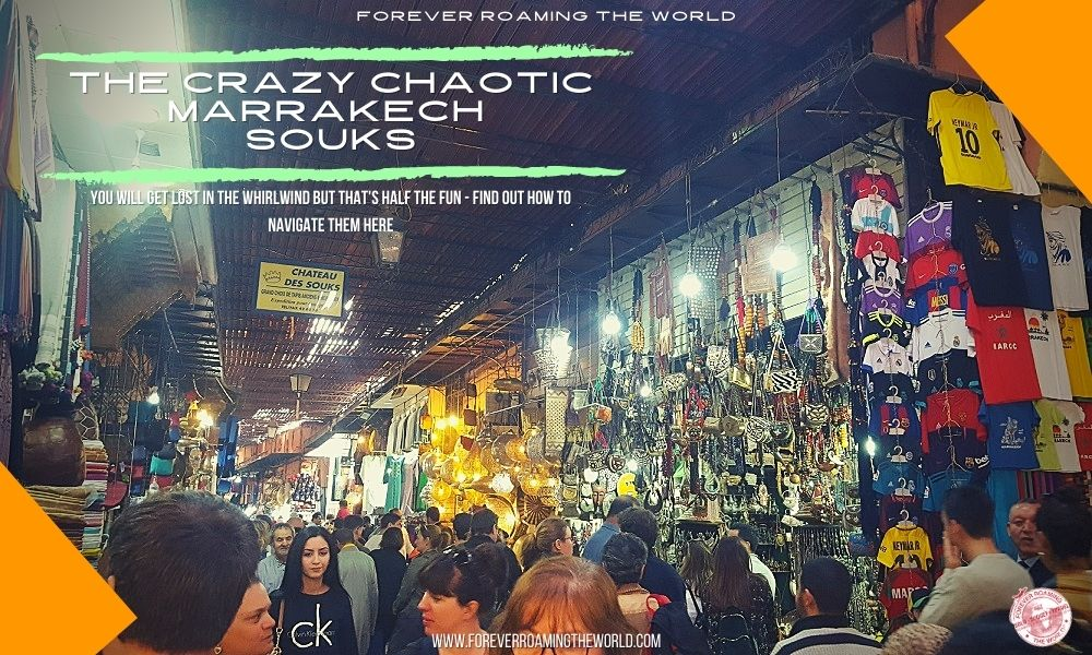 this post from forever roaming the world covers what the marrakech souks are like for budget travelers
