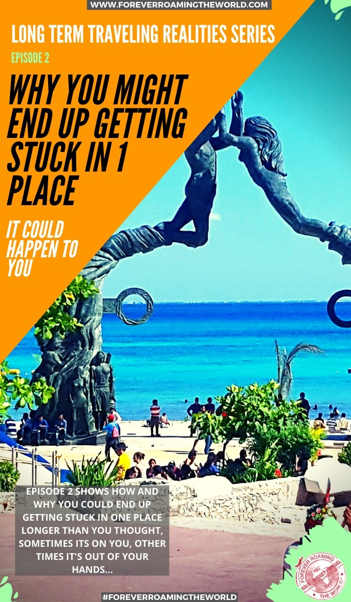Getting stuck whilst traveling: it happens: Traveling realisms part 2 You never think it will happen to you until it does. For us long-term backpackers, there are times we can get stuck whilst traveling. This post shows you the reasons it could happen to you. #backpacker #backpacking #longtermtravel #budgettravel #budgetbackpacker #solotravel #solobackpacker #backpackertips #traveltips #travelblog