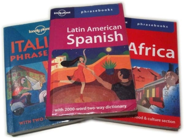 Traveling language problems: ways to cope! 6