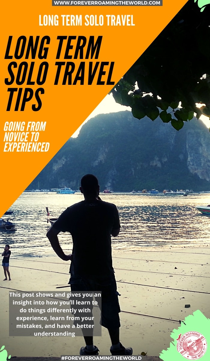 Backpacking for the first time, especially backpacking solo, is such an education and an eyeopener into the unknown. This post covers the things solo backpacker learn with experience and how you'll do things differently the more you travel #solotravel #backpacking #budgettravel #solobackpacker #longtermtravel #backpackingtips #travelblog #travelhacks #backpackertips