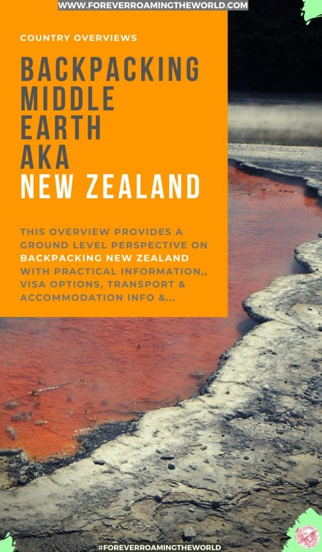 This backpacking new zealand overview, gives you an insight into practical tips for everyday backpacking life, visas options, things to be wary of, transport and accommodation options, and more #solotravel #backpacking #backpacker #travelblog #budgettravel #solobackpacker #backpackingnewzealand #newzealand #travelnewzealand #newzlealandtips #newzealandmap #newzealandguide