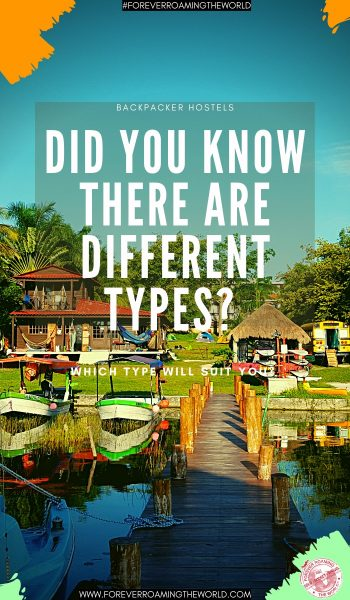 Many people choose backpacker hostels as their choice of accommodation, but did you know there are different types of backpacker hostels? This post shows you those different types to suits your needs. #hostels #backpackerhostels #hosteltypes #backpacker #solotravel #budgetravel #solobackpacker #budgetbackpacker #hosteltips #travelblog