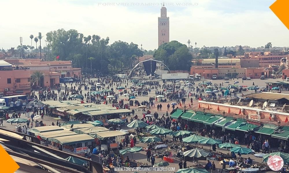 Marrakech medina blog post - Forever Roaming the World - Pic 1