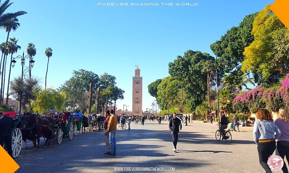Marrakech medina blog post - Forever Roaming the World - Pic 2