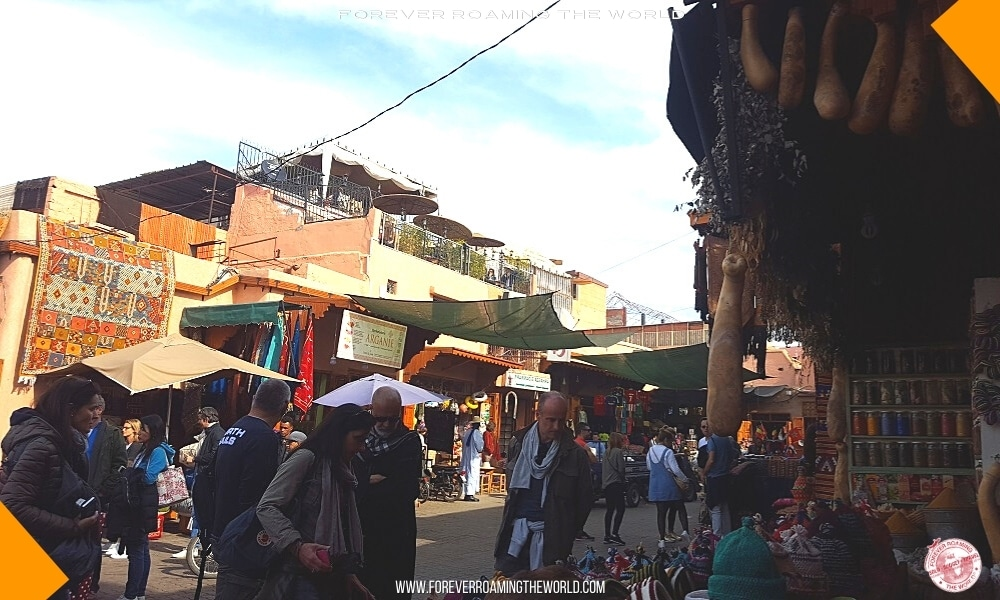 Marrakech souks blog post - Forever Roaming the World - Pic 4