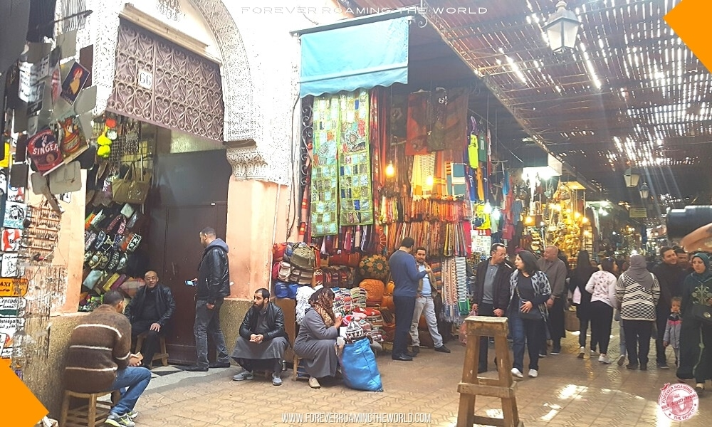 Marrakech souks blog post - Forever Roaming the World - Pic 5