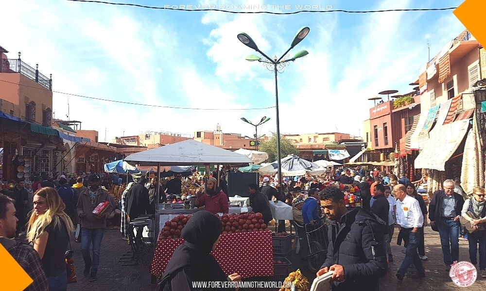 Marrakech souks blog post - Forever Roaming the World - Pic 7