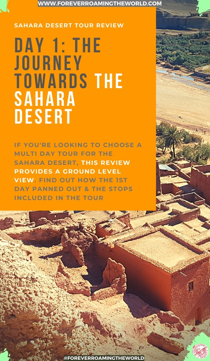 This was a step into the unknown for me. I've always backpacked independently but I chose an organised tour for my Sahara Desert trip. If you're thinking of doing one, find out why I chose this one and what I thought of the Igomorocco.com Sahara Desert tour. #saharadesert #morocco #igomoroccotour #deserttours #tourreview #review #solotravel #solobackpacker #backpacker #travelblog #traveltips