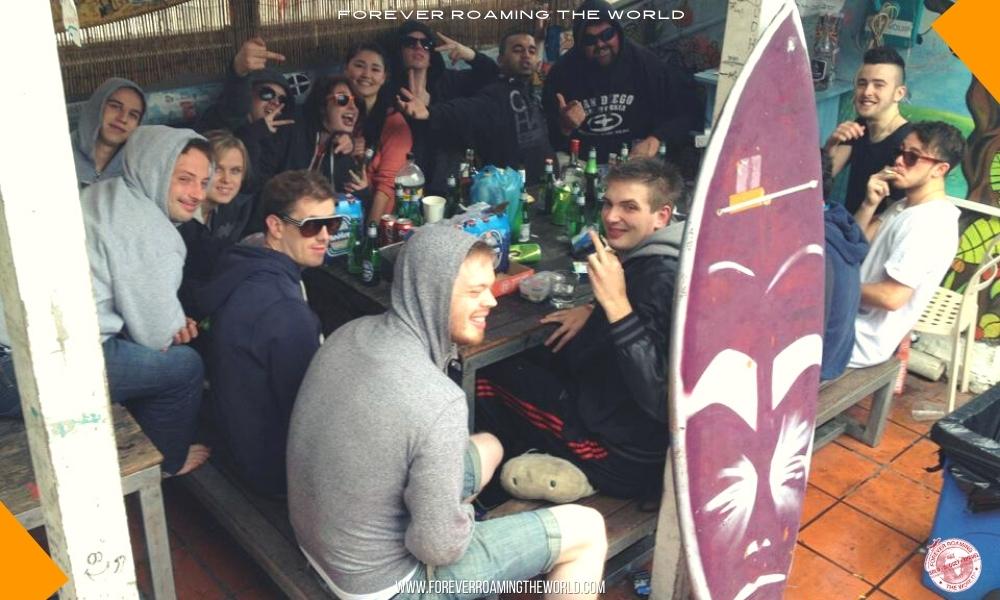 Backpacker hostel bubble blog post - Forever Roaming the World - pic 6