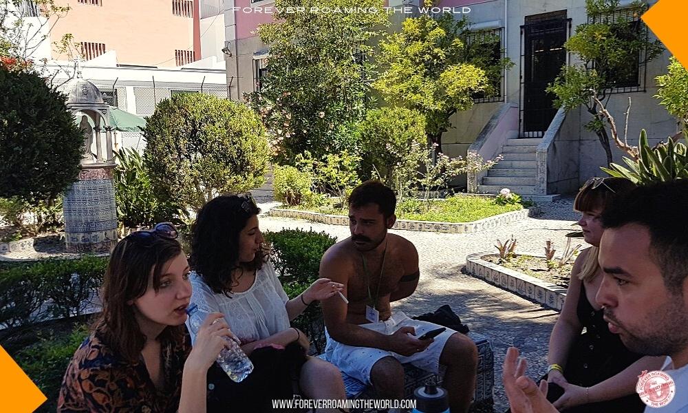 Backpacker hostel bubble blog post - Forever Roaming the World - pic 9