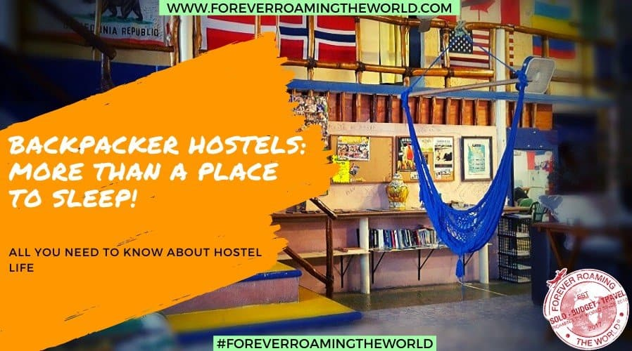recource page for budget backpacker hostels