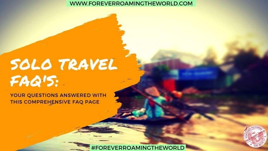 traveling alone feature pic for forever roaming the world