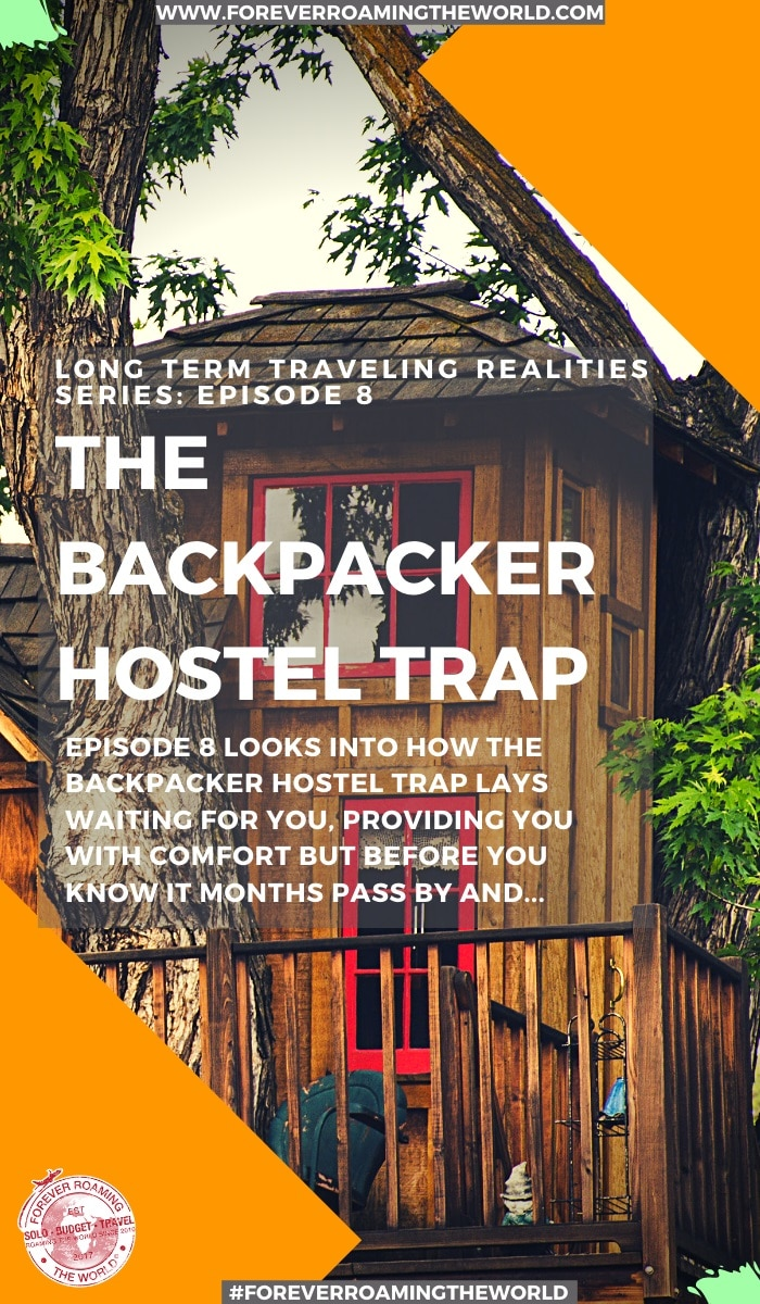 Disguised as a bubble, providing you with a comfort zone, but secretly stripping away your motivation the backpacker hostel bubble turns into a trap. This post shows how It's not always a bad thing but it can be dangerous. #hostels #hostellife #backpackerhostels #hosteltips #backpackerbubble #backpacker #solotravel #budgettravel #travelblog