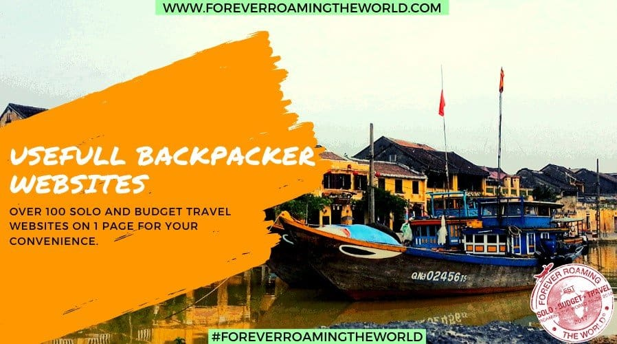 over 100 useful websites and apps for solo and budget backpackers by Forever Roaming the World