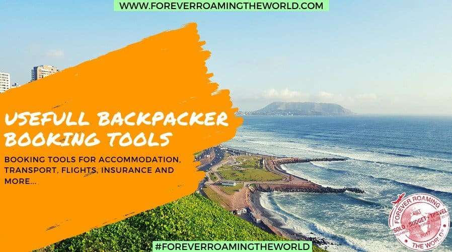 Forever Roaming the Worlds useful budget travel booking tools