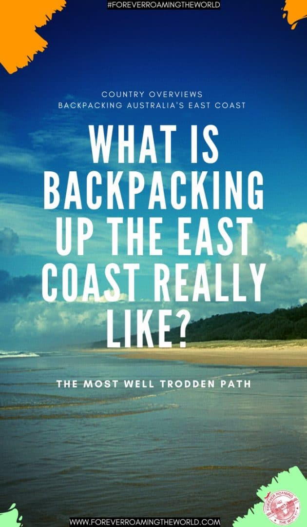 This backpacking Australia's east coast overview, gives you an insight into practical tips for everyday backpacking life, visas options, things to be wary of, plus...#solotravel #backpacking #backpacker #budgettravel #solobackpacker #backpackingaustralia #australia #australiaeastcoast #solotravelaustralia #travelblog #australiatips #travelaustralia #australiamap #australiaguide