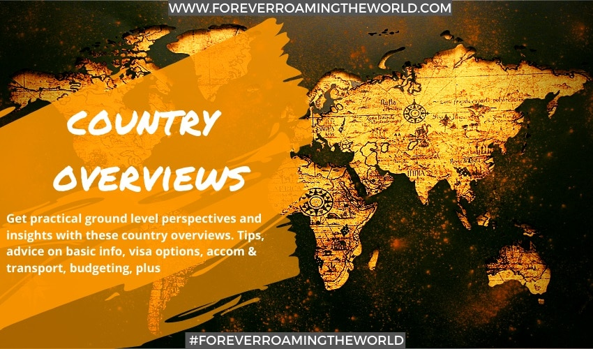 feature picture for Forever roaming the worlds Country overviews page