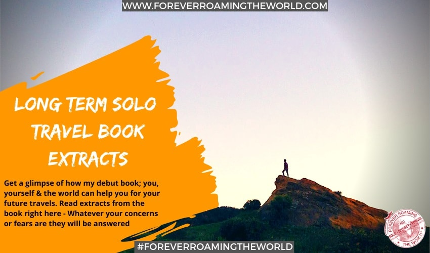 solo travel book feature pic for forever roaming the world