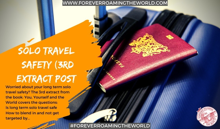 Feature picture for Solo travel safety for forever roaming the world