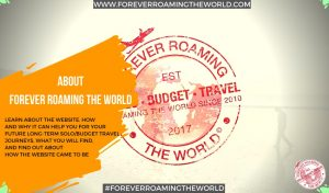 about forever roaming the world about pic
