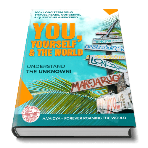 Solo travel book info: You, Yourself & the World 7