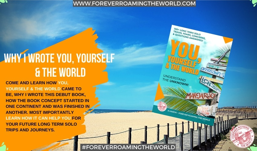 Excited my 1st solo travel book is published! 1
