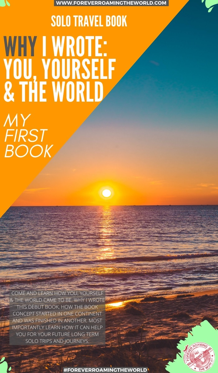 With 10 years solo traveling experience and extensive knowledge I've written this book to help you for your future travels. Find out in this post how the book came to be #solotravel #solotraveler #solotraveling #solotravelbooks #travel #travelbooks #newbooks #backpacking #budgettravel