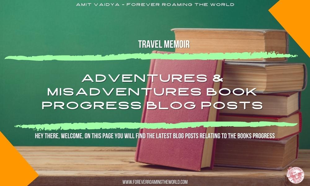 Adventures & misadventures book page 2