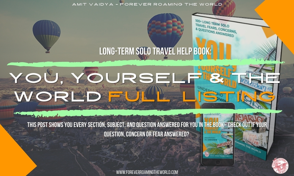 Long term solo travel book 4