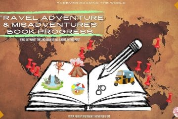 travel adventures & misadventures book - forever roaming the world - feature pic